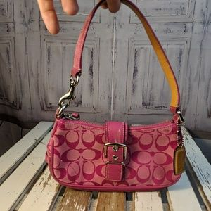 $SOLD$#Coach wallet wristlet wrist purse shoulder